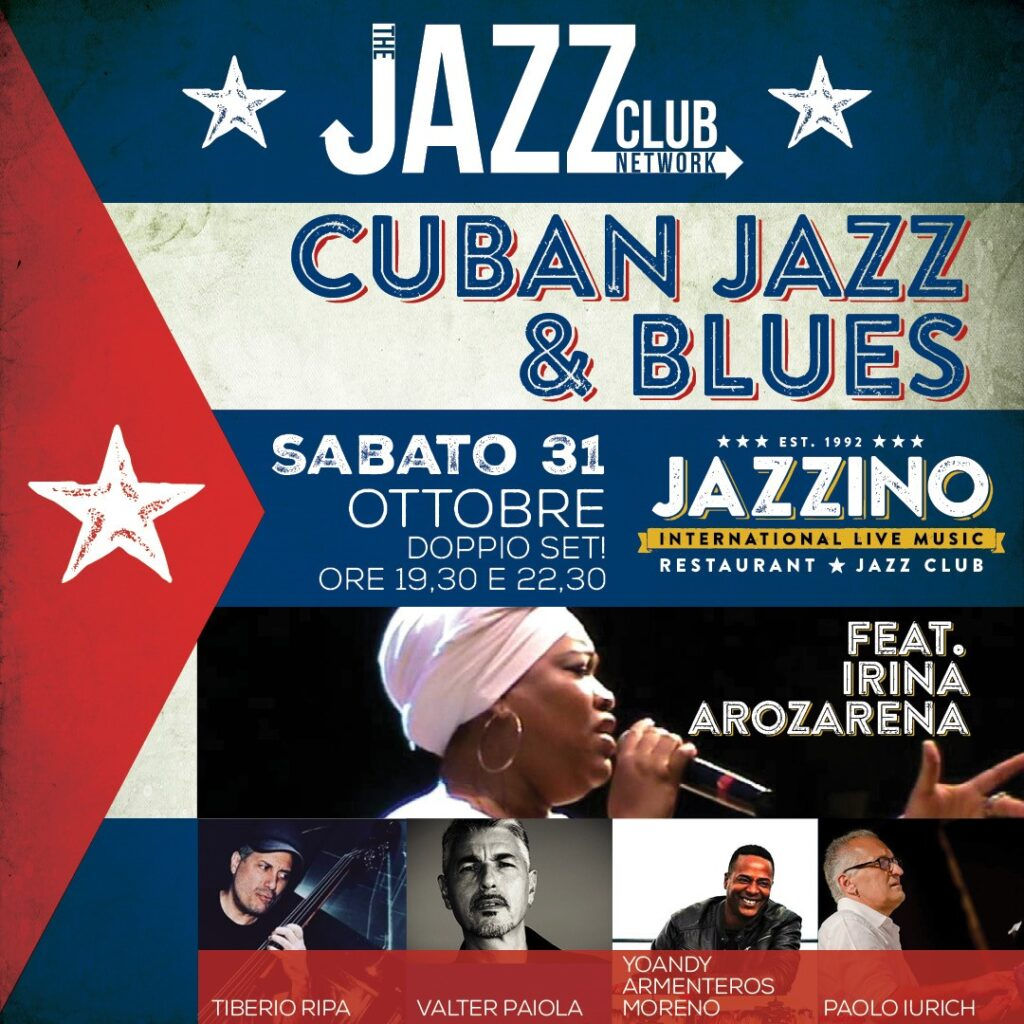 Cuban Jazz & Blues with Irina Arozarena JBF Jazzbluesfactory jazz blues factory