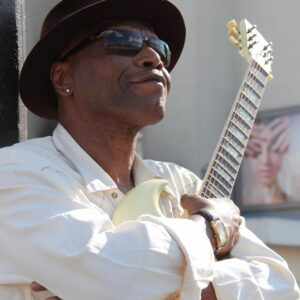 Ron Smyth con un sorriso Jazz Blues Factory JBF JAZZBLUESFACTORY